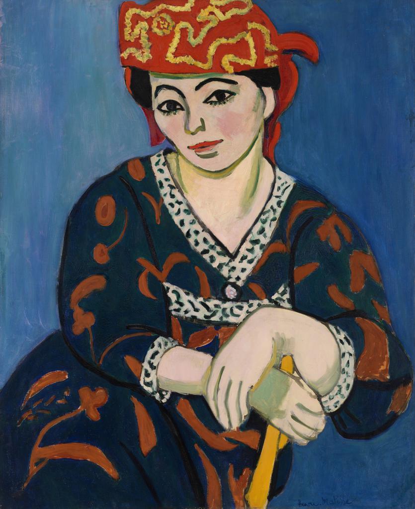 Derain Art Exhibition Poster Matisse Paris 2005